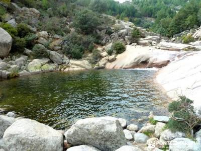 La Pedriza - Collado del Cabrón - Charca Verde - Río Manzanares_ trekking madrid;el pardo rutas